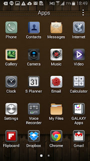 Samsung TouchWiz Theme
