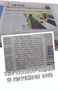 The Straits Times, 15 September 2012