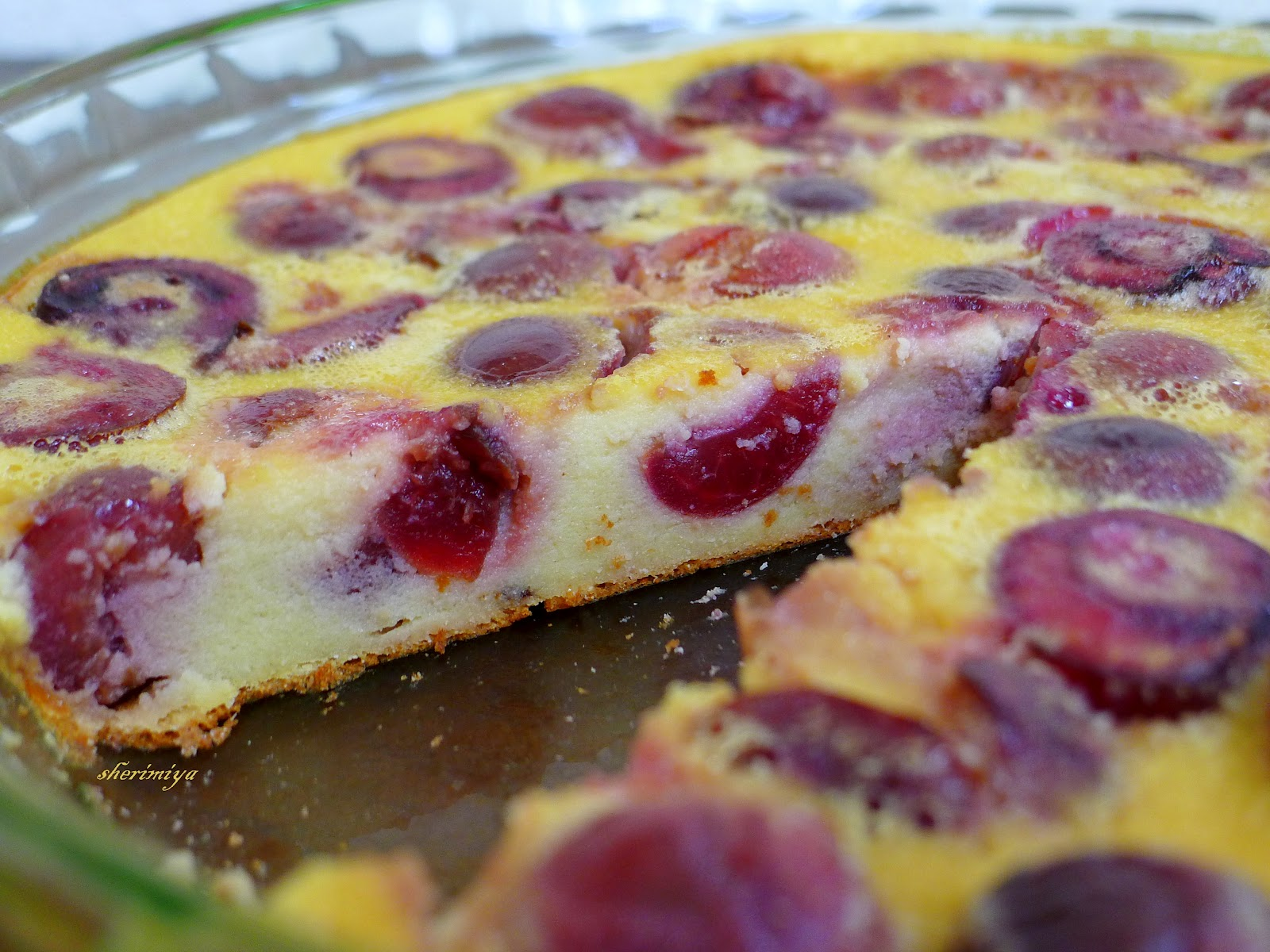 Happy Little Bento: Gluten-Free Adventures: Cherry Clafoutis