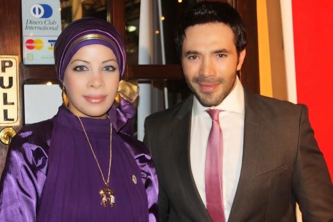 مع الفنان رامى وحيد عام 2010