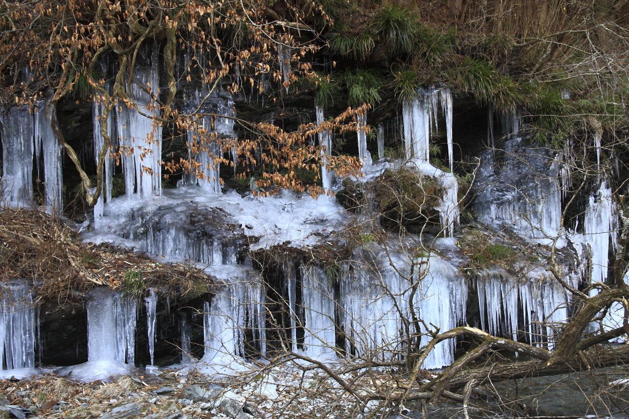 上平の氷瀑