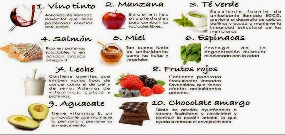 10 bellesalud para alimentarnos mejor alimentos antiage - Alimentos antienvejecimiento ...