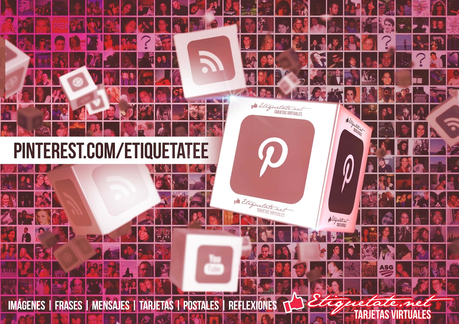 Sígue a ETIQUETATE.NET en las redes sociales .:  Twitter, Facebook, YouTube, Google+, Flickr, Instagram, Pinterest.