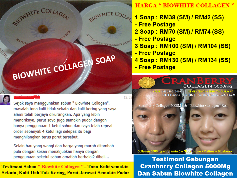 Sabun Magik Biowhite Collagen: Sabun Biowhite Collagen
