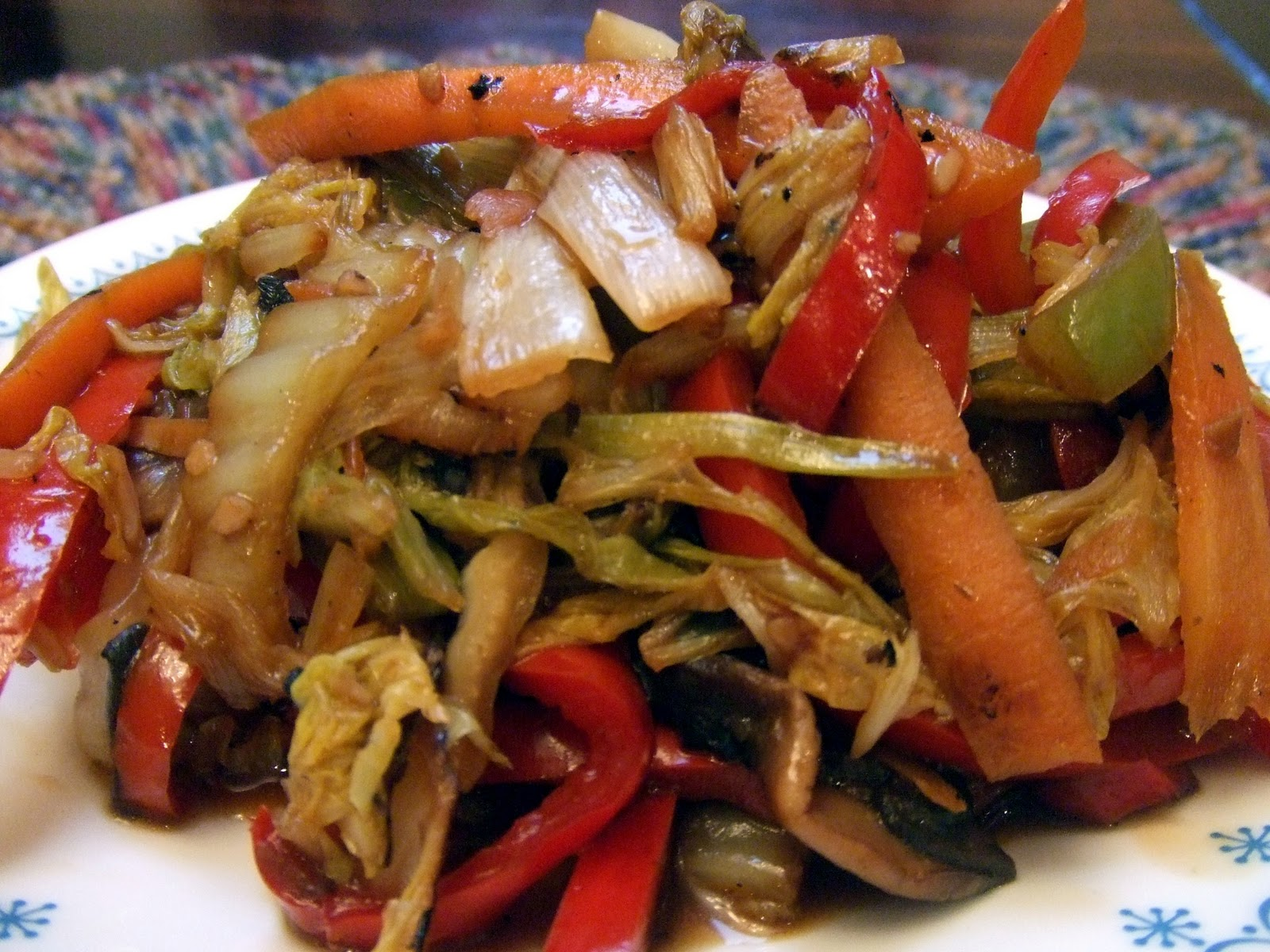 Moo shu vegetables