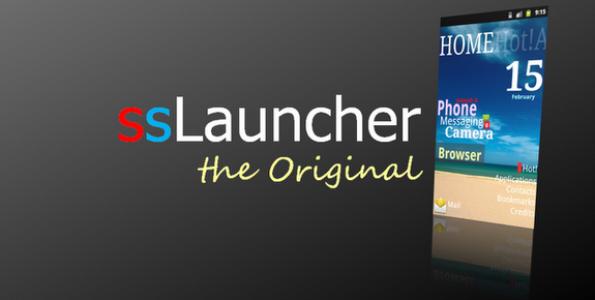 ssLauncher The Original V1.14.15 Full Apk