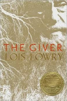 http://www.amazon.com/Giver-Quartet-Lois-Lowry/dp/0547995660/ref=sr_1_2_bnp_1_har?ie=UTF8&qid=1409281827&sr=8-2&keywords=giver
