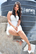 Ashwini latest sizzling photos in white-thumbnail-15