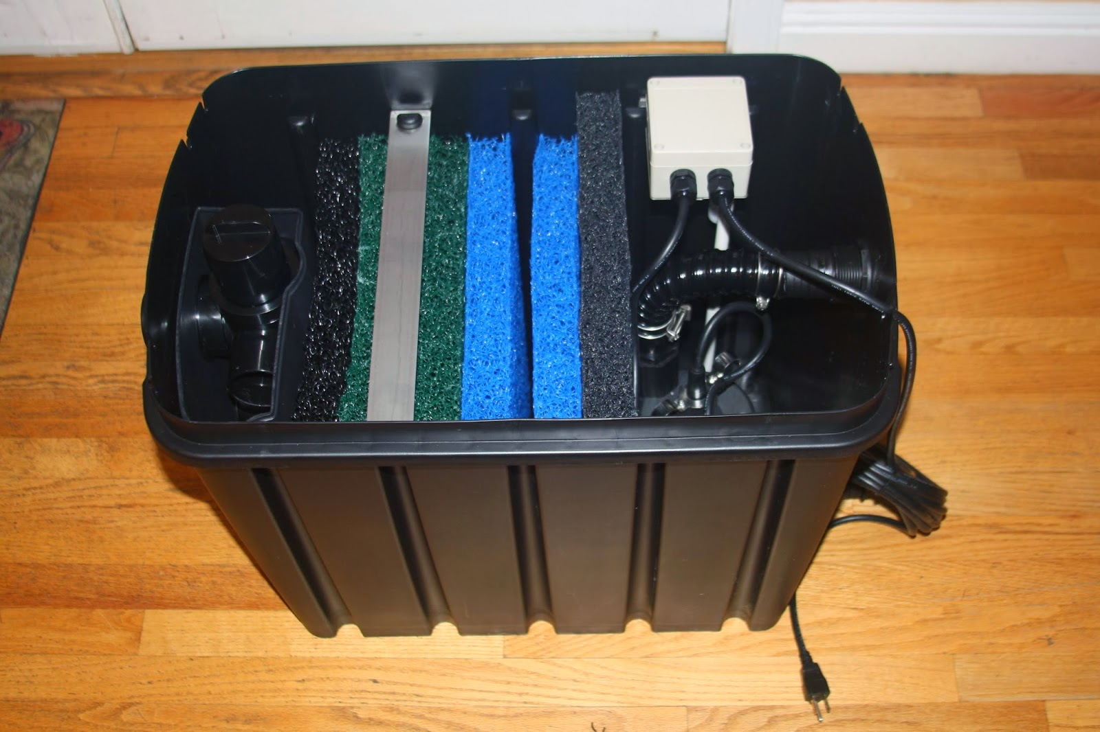 how to build an approved grey water filter