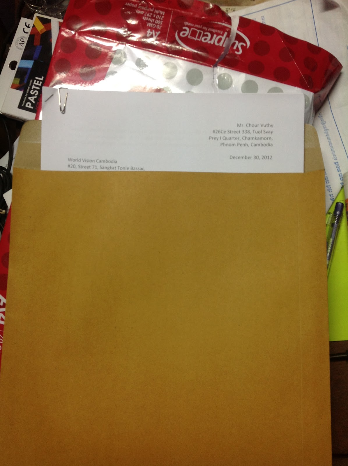 what kind of envelope for resume and cover letter