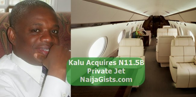 kalu private jet 12 billion