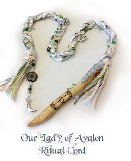 Our Lady of Avalon Ritual Cord from MoonsCrafts