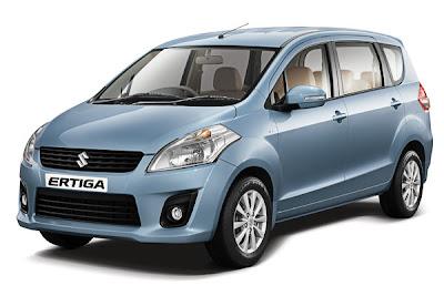 Spesifikasi dan Harga Mobil Suzuki Ertiga