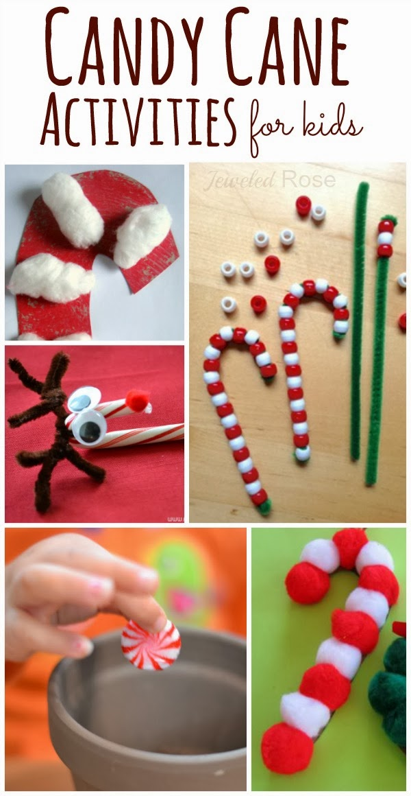 Christmas Craft Ideas With Candy Canes Part - 22: Candy Cane Activities For Kids