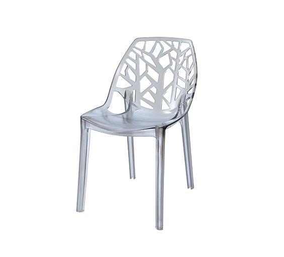Recetas viajes y m s sillas transparentes for Sillas cocina transparentes