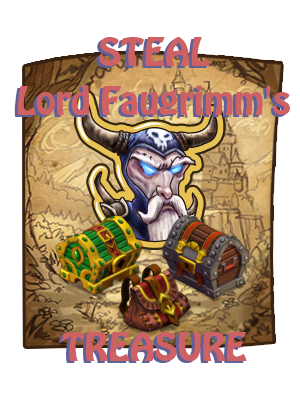 Castleville Giftlinks Steal Lord Faugrimm's Treasure