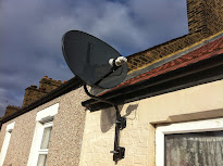 Vijay Tv Dish Mounted on S Pole