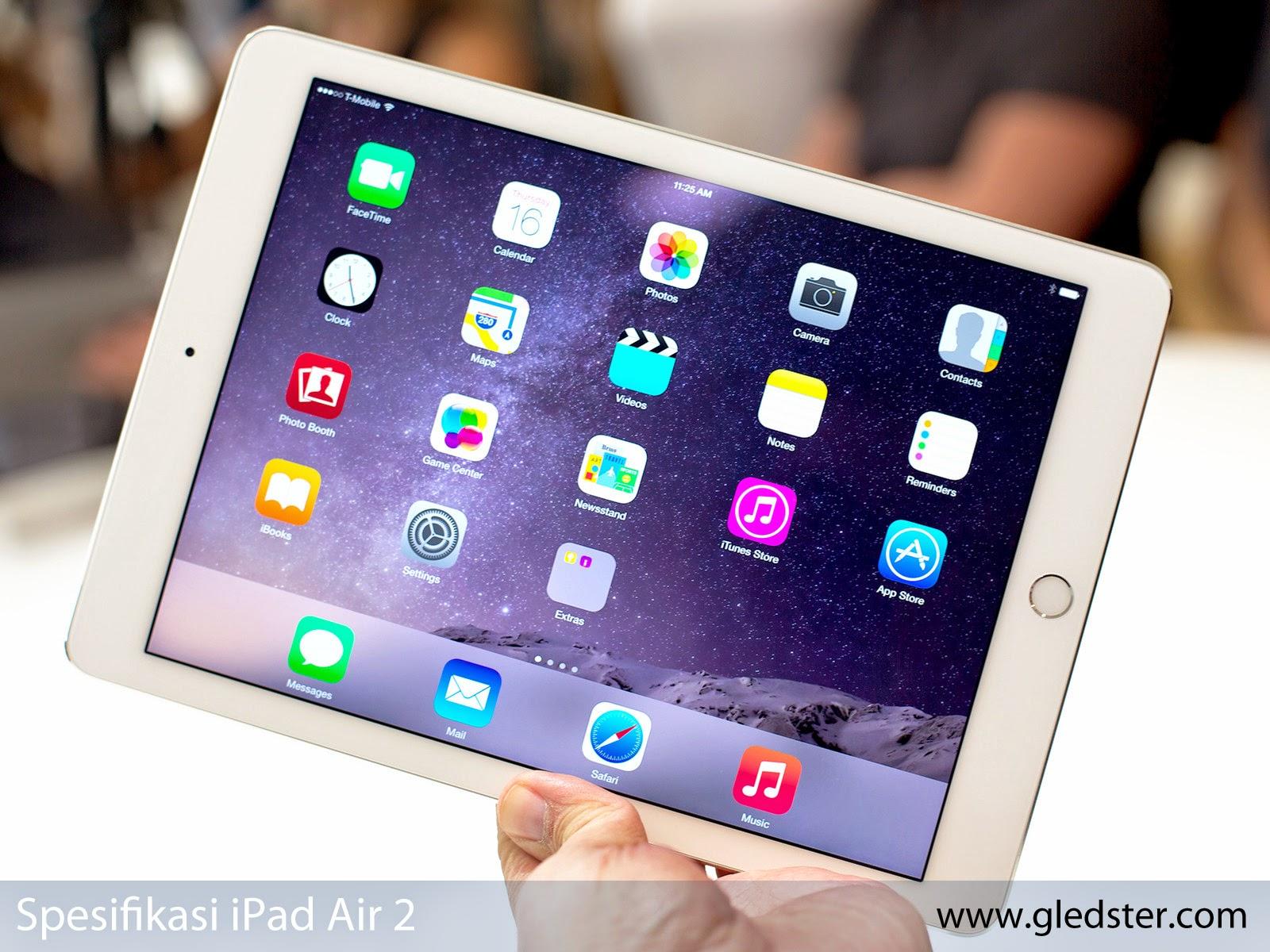 Spesifikasi iPad Air 2