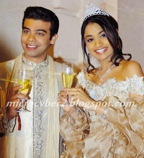 Vanisha Mittal dan Amit Bhatia