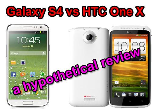 Galaxy S4 vs HTC One X