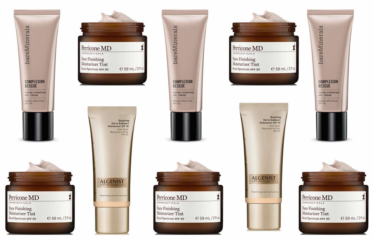 New-Tinted-Moisturisers-for-2015-Bare-Minerals-Perricone-MD-Face-Moisturiser-Tint-Algenist-REPAIRING-TINT-&-RADIANCE-MOISTURIZER-Review