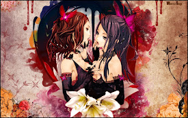 2 girls anime colorful hd wallpaper 1920x1200