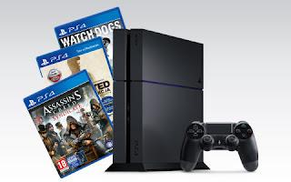 Konsola PS4 1TB + 3 gry PlayStation 4 z Biedronki