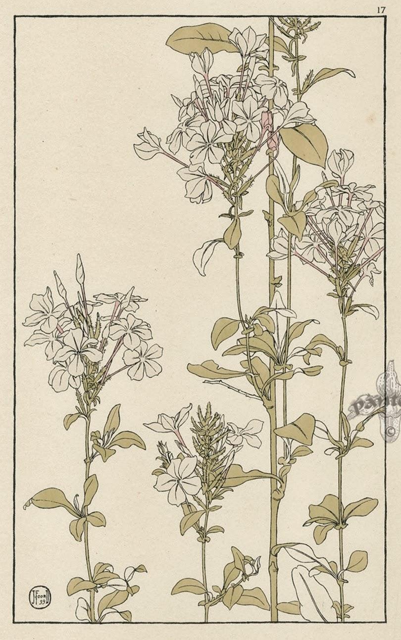 Абстракция цветы акварель