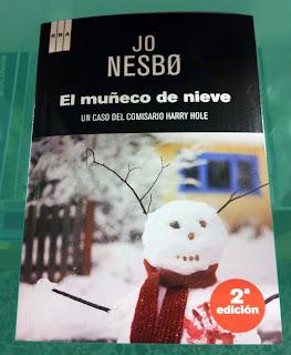 Portada del libro El muñeco de nieve