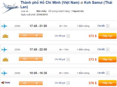 Vé máy bay đi Koh Samui giá rẻ 2015_2