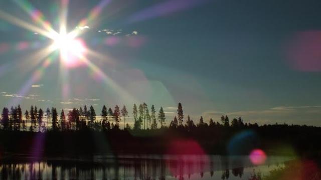 Subhanallah, di Provinsi Ini Matahari Bersinar di Tengah Malam