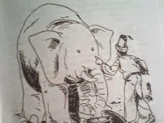 Abu Nawas dan gajah