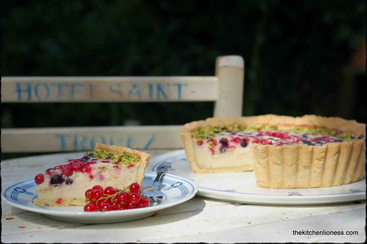 The Kitchen Lioness: TwD: Baked Yogurt Tart with Red Currants and Wild ...