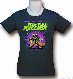 Click here to buy your Rocket Raccoon t-shirt at SuperHeroStuff!