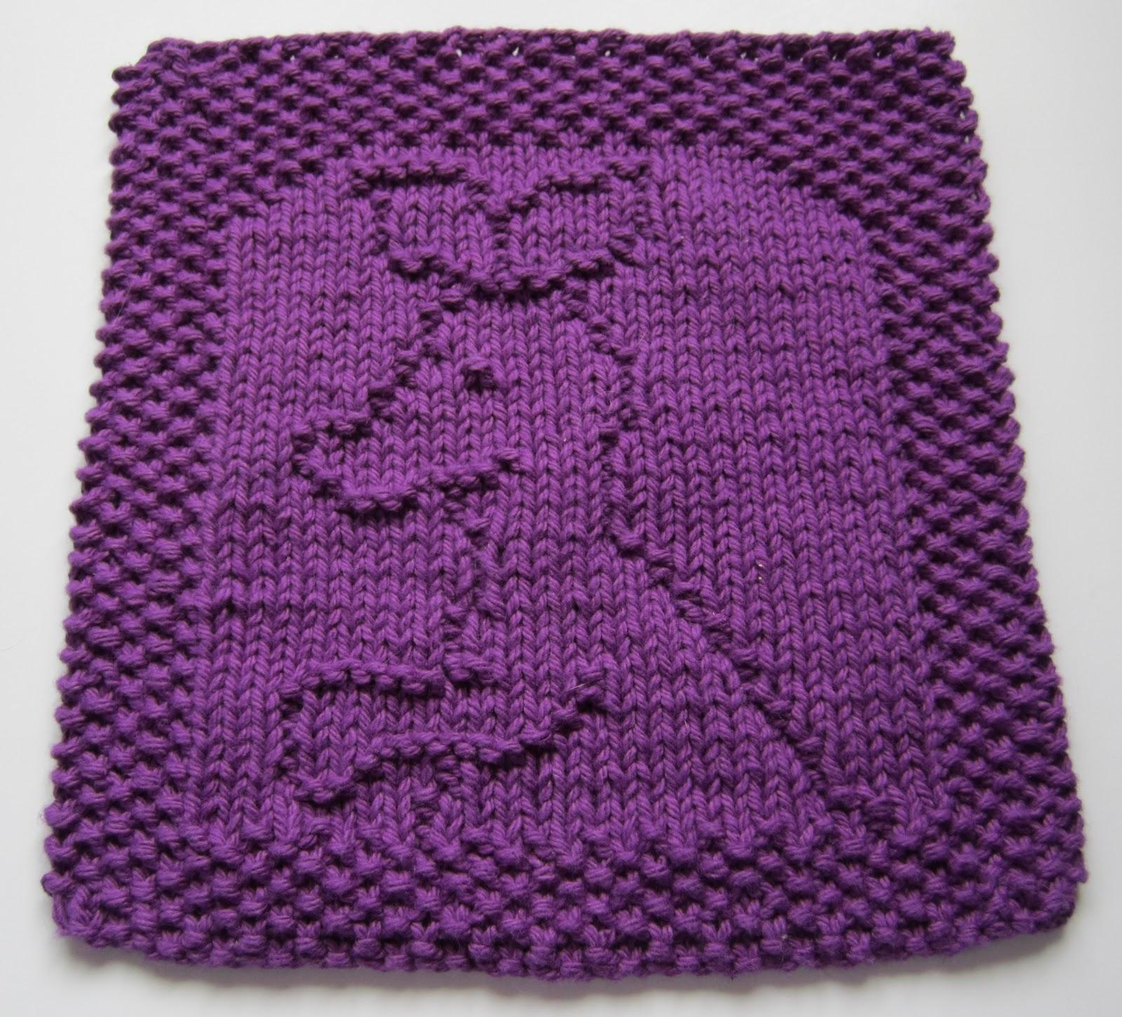 Baby Washcloths Knitting Patterns: Down Cloverlaine: Baby Joey Cloth
