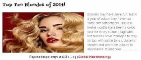 Top Ten Blondes of 2014!