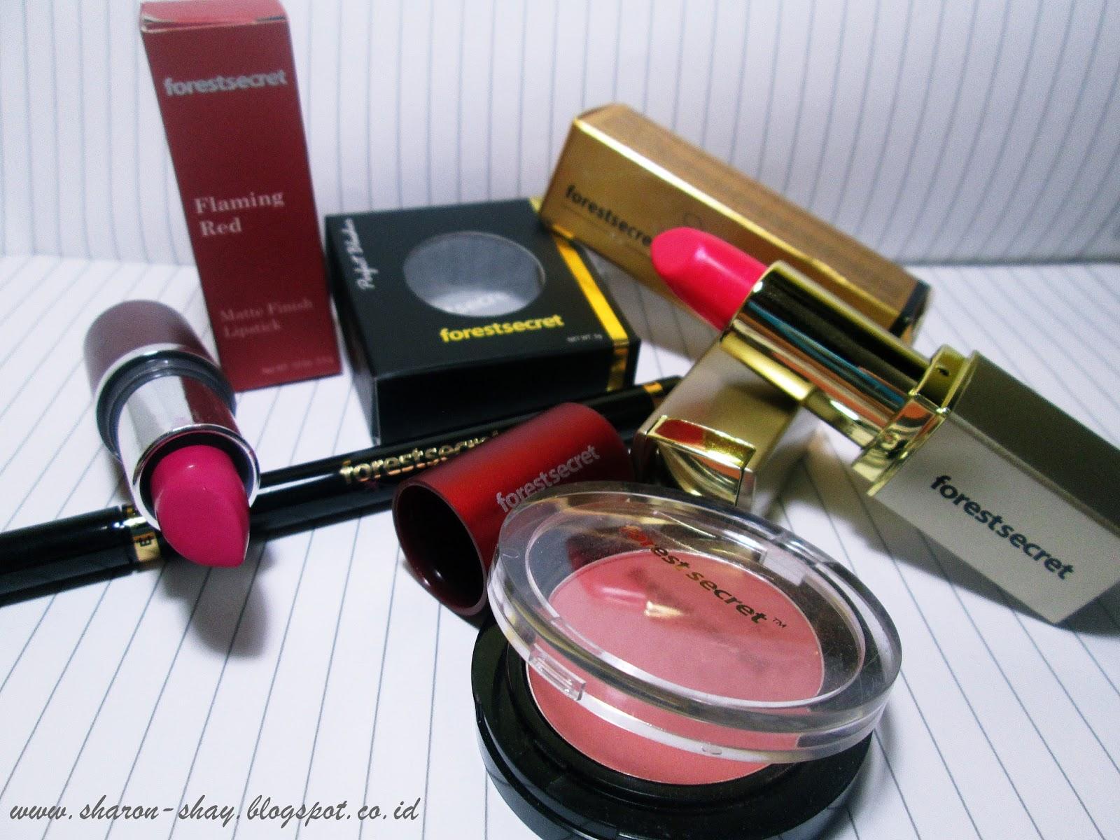 Ini adalah paket yang aku terima ada blush on eyeliner 2 lipstik gloss dan matte yang akan aku review kali ini selain dari produk diatas aku juga terima