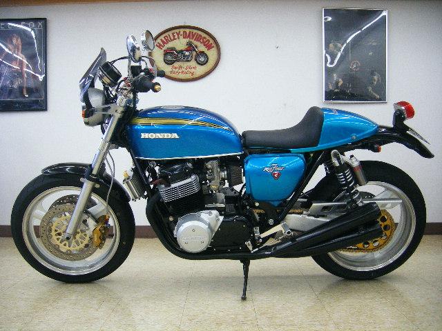 Racing Caf U00e8  Honda Cb 750 K0 By Oldstyle  U0026 39 70s