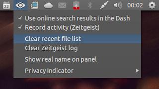 ubuntu privacy indicator