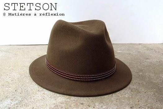 Chapeau femme Stetson brown