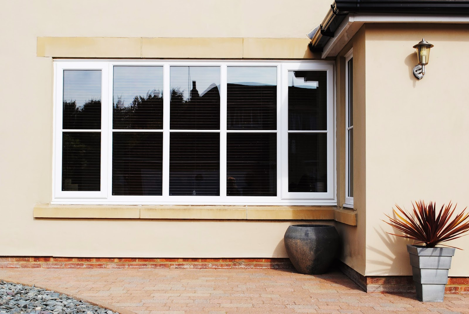 Our recent work single astragal georgian bar windows with for Composite windows