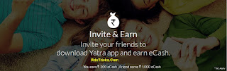 yatra refer and earn offer