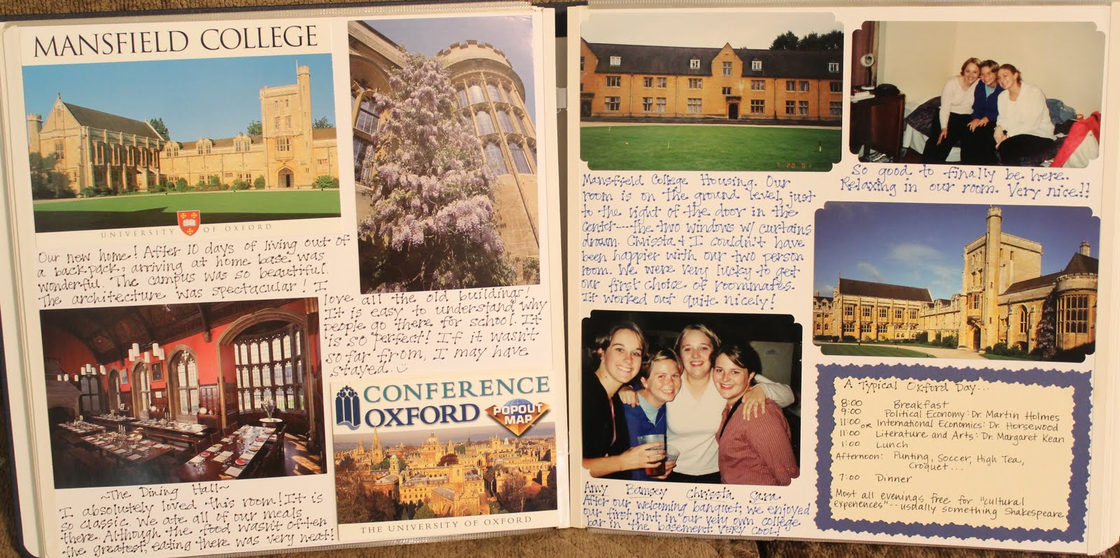 Scrapbook ideas many pictures - Scrapbook Ideas College Days And Then Was Finally Introduced To The World Of Scrapbooking During