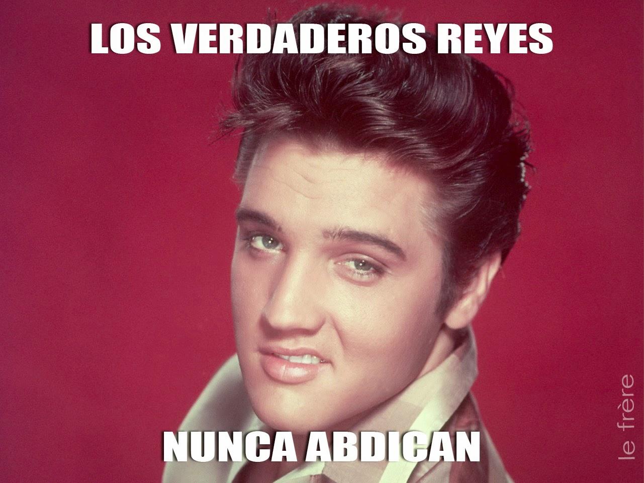 """""""Juan Carlos I"""",""""Felipe VI"""", Abdicación, """"España"""",""""rey"""",""""Elvis"""""""