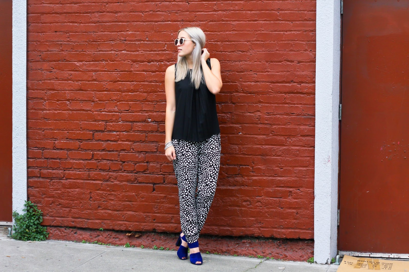 How To Style and Wear Patterned Pajama Pants / Trousers