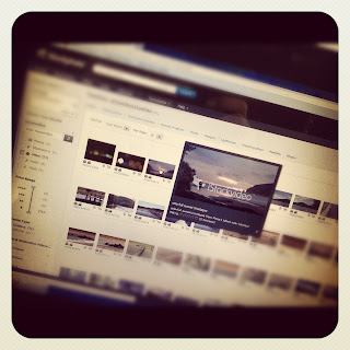 Page on a Stock Film Footage Site