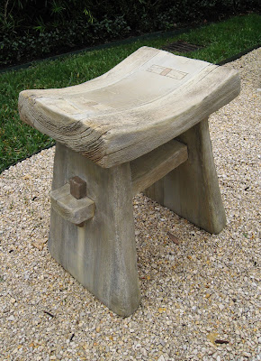 Faux bois in concrete for Small concrete projects