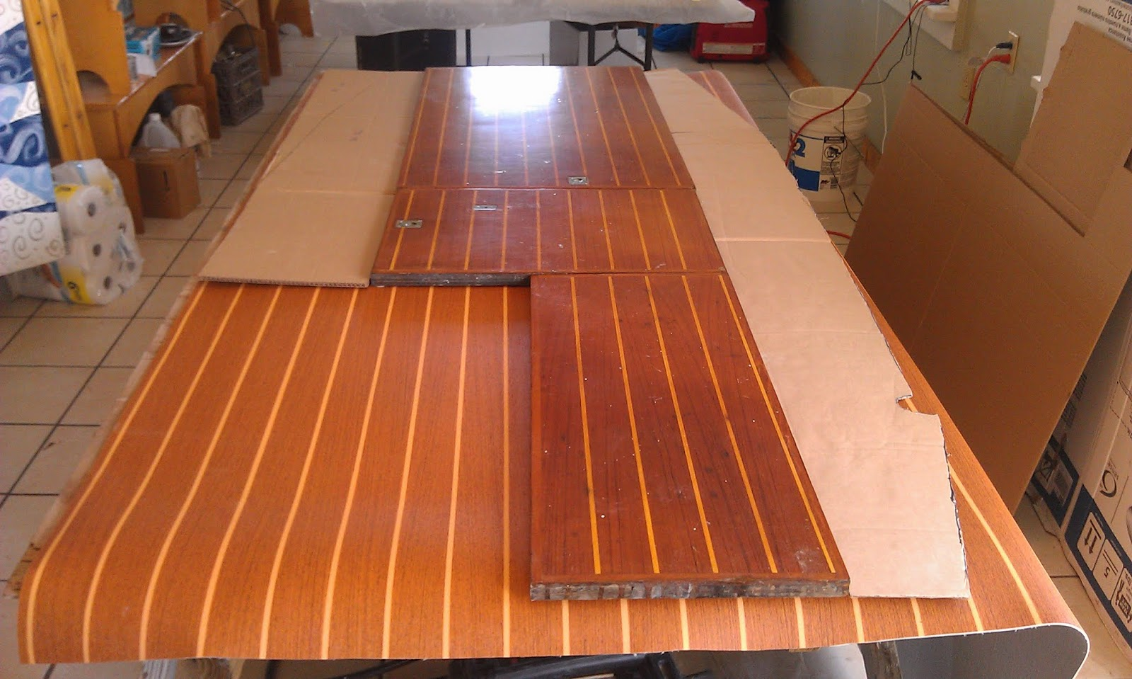 Small Boat Projects Making Life Aboard Easier Refinsihing The Cabin Sole With Lonseal