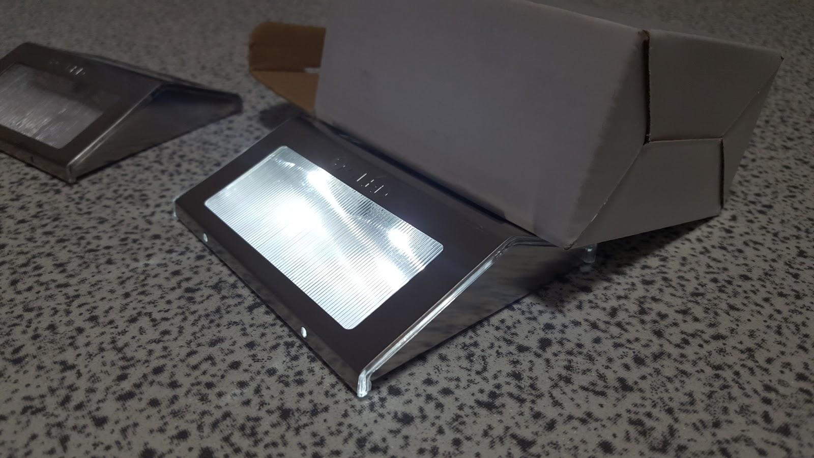 La pagina della tecnologia recensione lampade led oxyled - Lampade da esterno ad energia solare ...