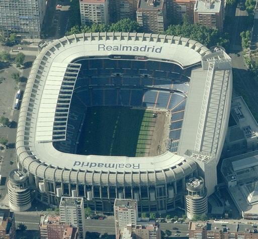 Estadios de f tbol en espa a madrid estadio santiago for Puerta 38 santiago bernabeu